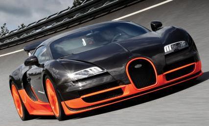 Mobil Termahal Bugatti Veyron Super Sport