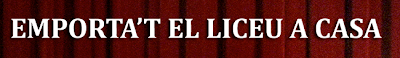 DVD Ópera Liceo - La Vanguardia