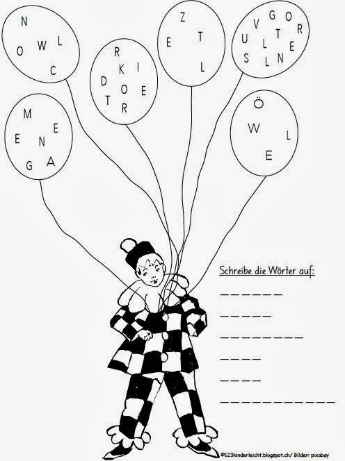 Beste Kindergarten Arbeitsblatt Dezember 2015 Mathematik Wort ...