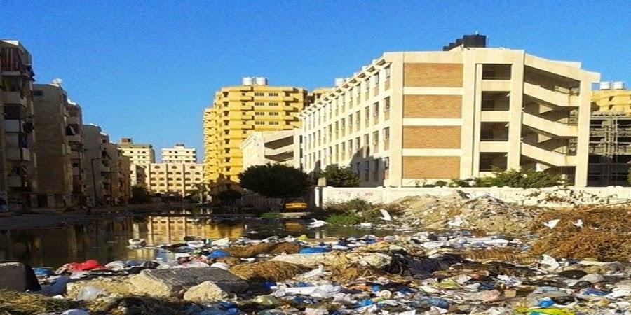 خبر :   مدرسة عبد المنعم واصل التجريبية تغرق في مياه الصرف الصحي والقمامة