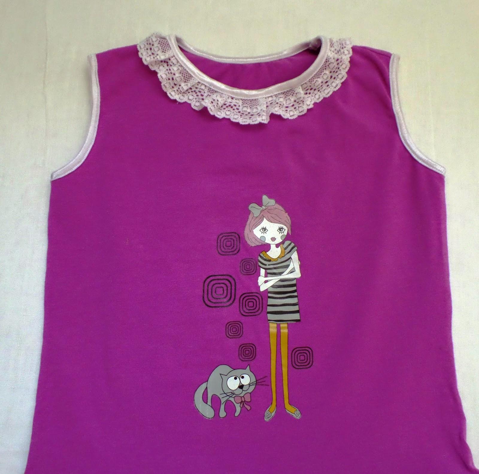Платье для девочки в садик своими руками