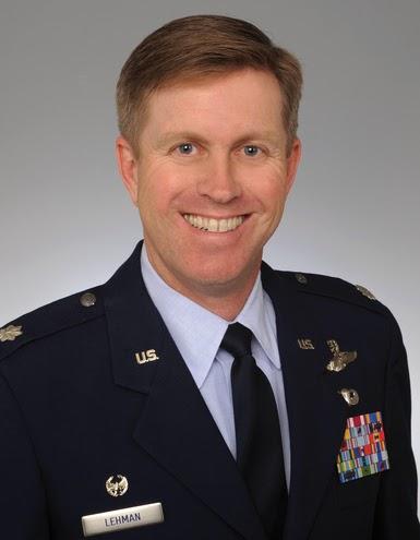 Lt. Col. Glen Lehman, Air Force ROTC Detachment 001 Commander