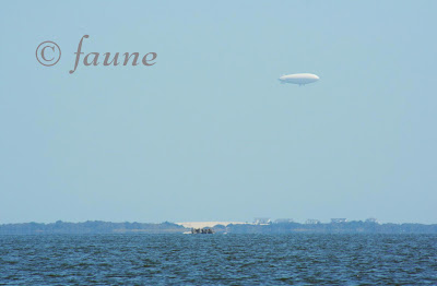 Blimp over Currituck OBX