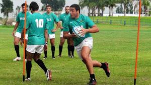 Lucas Noguera Paz, jugador de Lince Rugby Club de Tucumán.