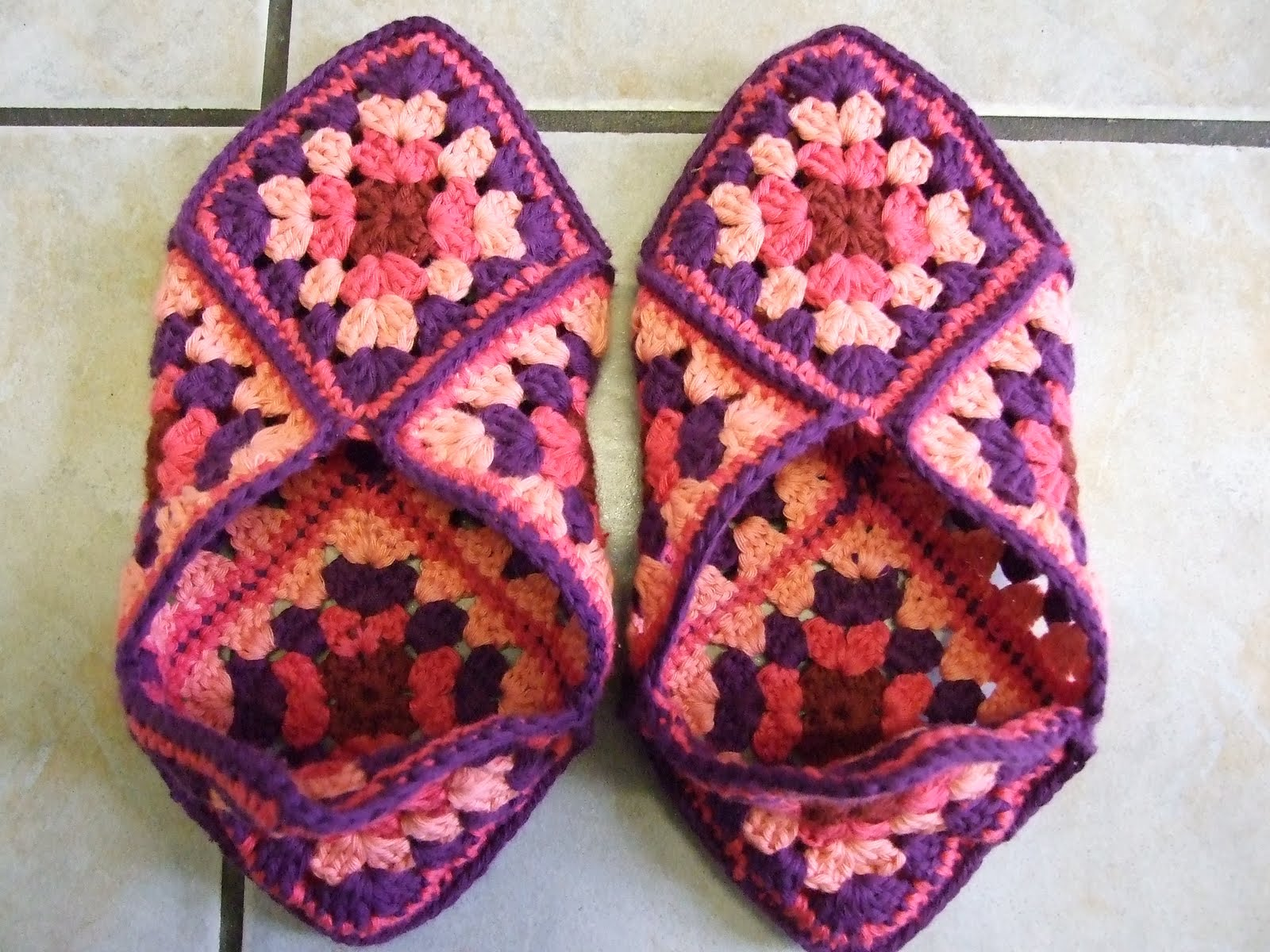 granny square pattern-Knitting Gallery