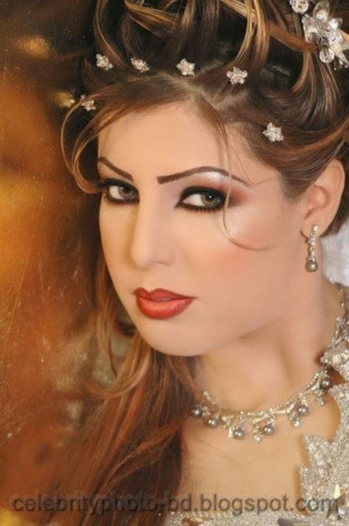 Pakistani+Wedding+Hairstyles+For+Bride+Girls+Photos+2014004