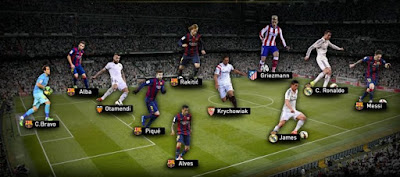 Spanish Football best players 2015