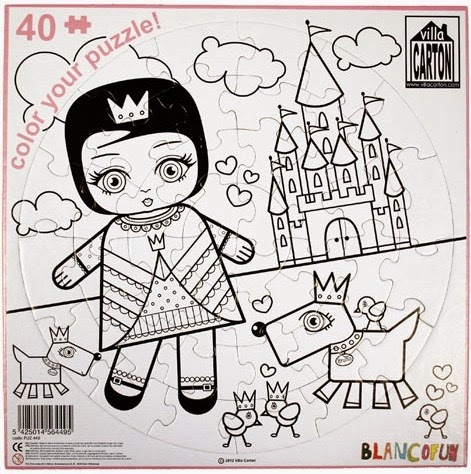 Coloriage enfant de 6 ans liberate for Puzzle a colorier gratuit