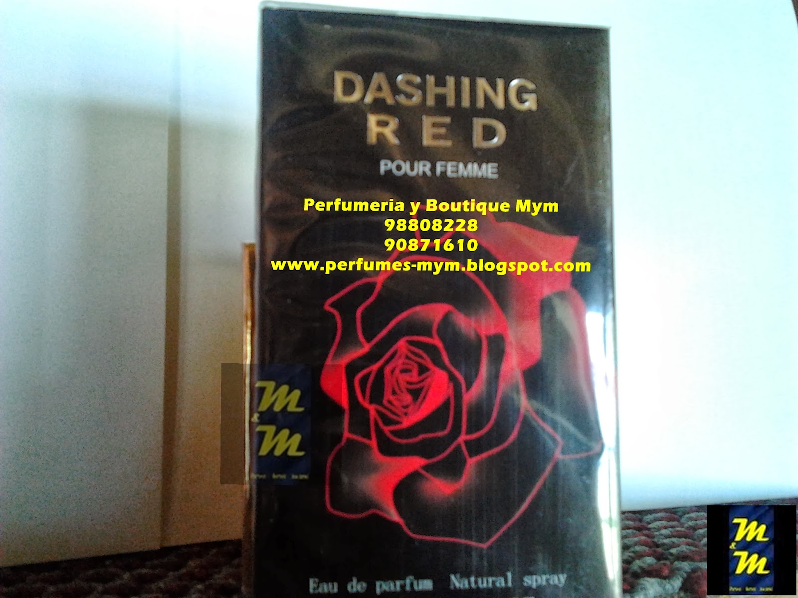 perfume xianzhu dashing red