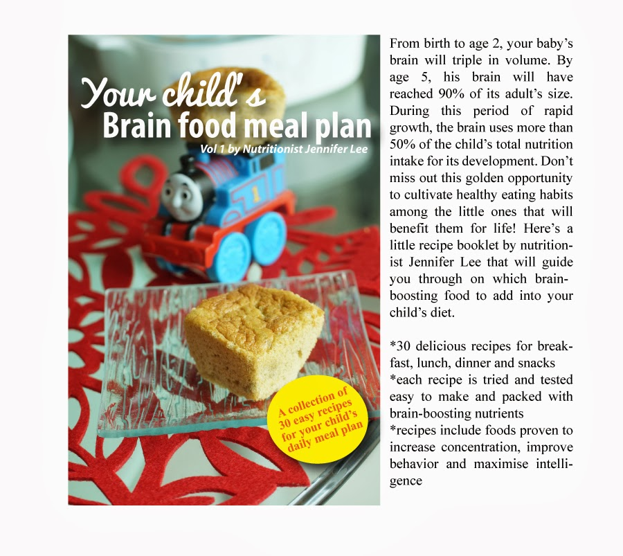 Journal of a nutritionist mom classses for moms all participants will receive a door gift a recipe booklet titled your childs brain food meal plan by nutritionist jennifer lee forumfinder Image collections