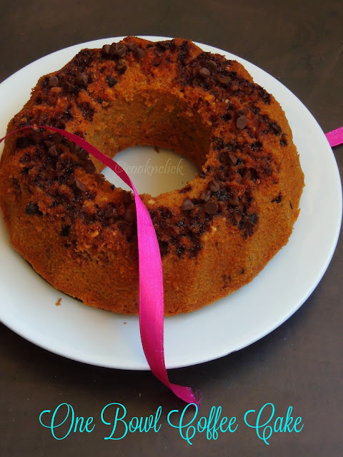 One Bowl COffee Cake, Coffee Cake