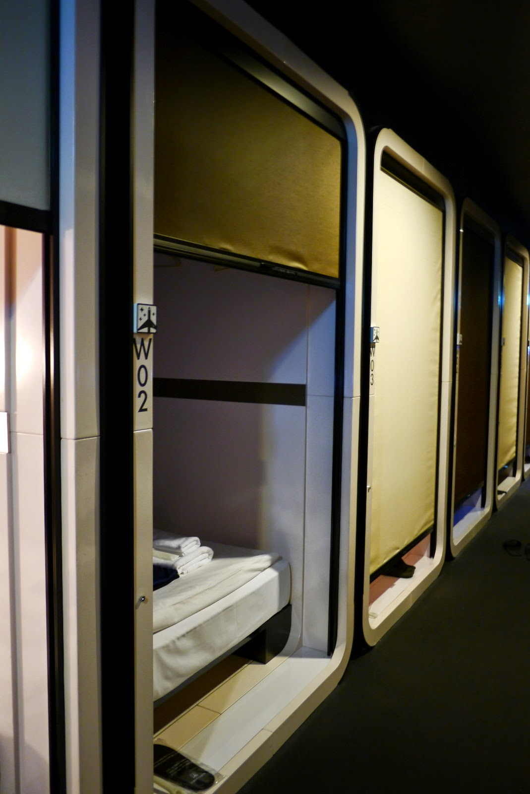 Sherry japan trip first cabin capsule hotel for First cabin haneda