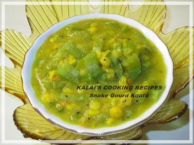 Simple Snake Gourd Kootu | புடலங்காய் கூட்டு | Pudalangai Kootu