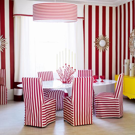 Imbiancare casa idee: Idee per pareti a strisce