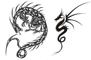 dibujos de dragones