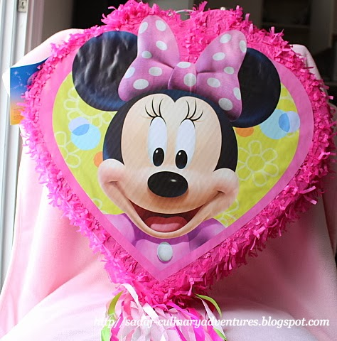 Minnie Mouse Pinata from Party City