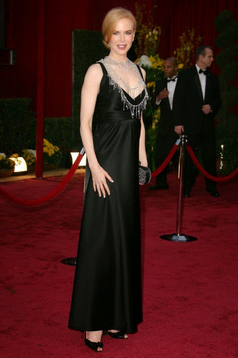 Nicole Kidman's Pregnant Style in Balenciaga at the 2008 Academy Awards