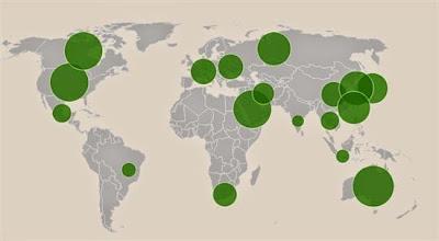Graphic of per capita greenhouse emissions