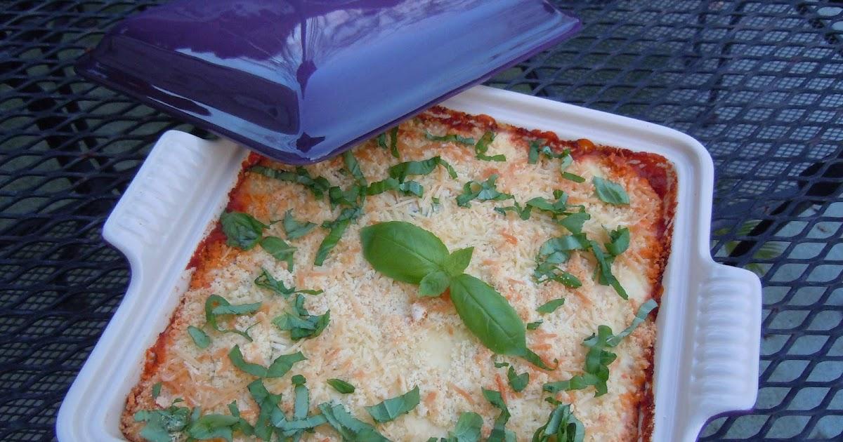 Gourmet Girl Cooks: Eggplant Ricotta Bake