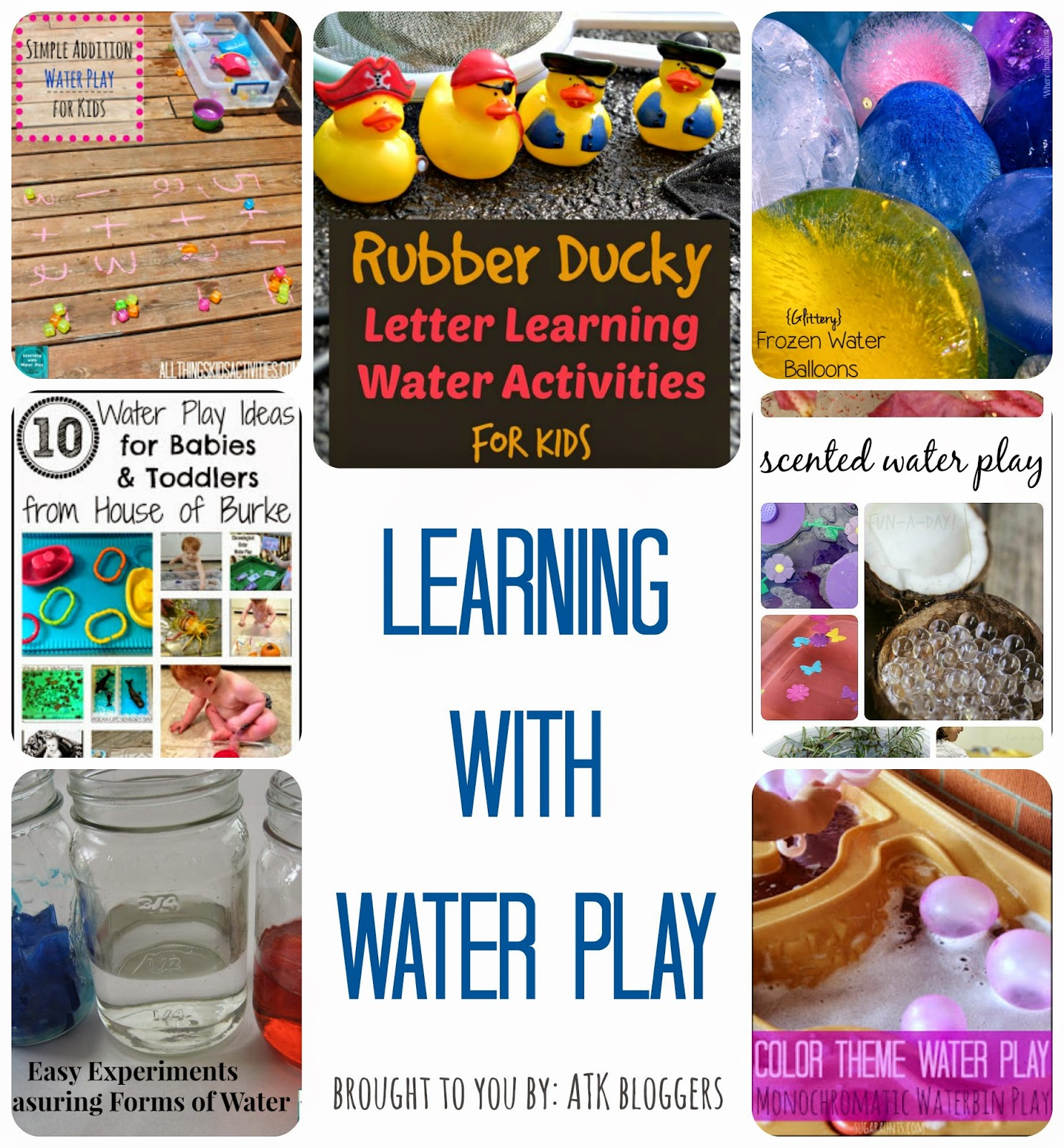Learning with Water Play