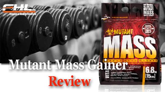 Mutant Mass Gainer най-добрия протеин за мускулна маса