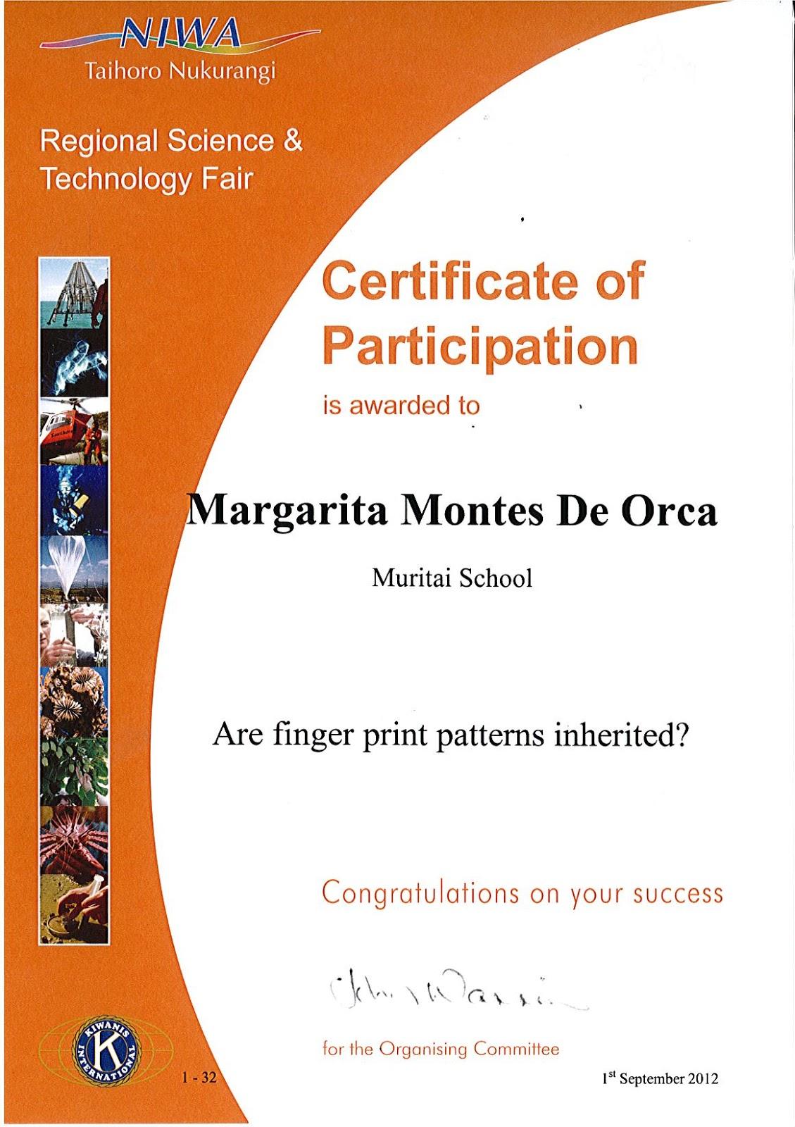printable science fair certificates