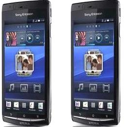 HP Android Sony Ericsson