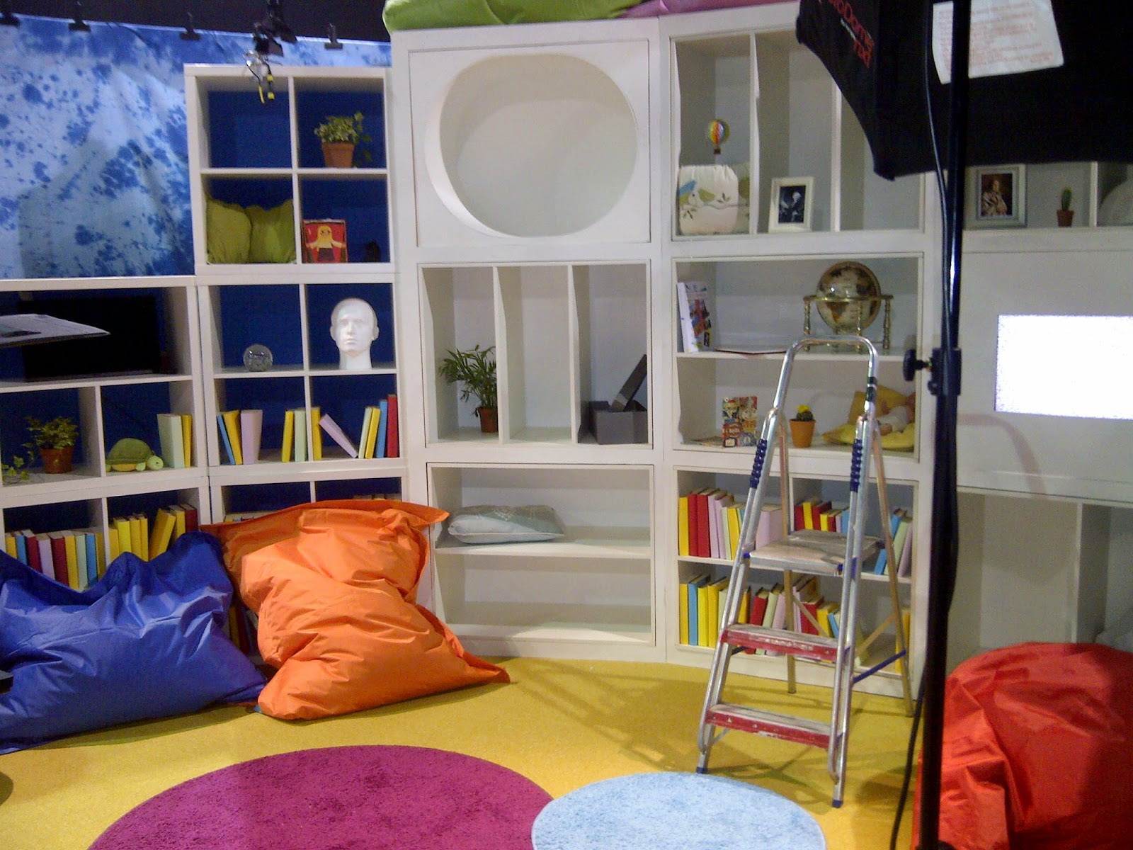 Set dressing childrens tv