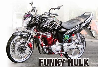 Foto Modifikasi Honda Megapro