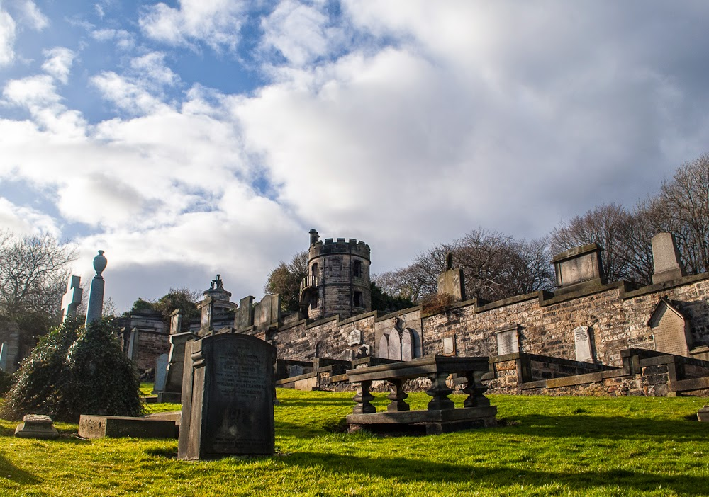Calton Hill Edinburgh Cemetery