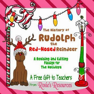 """The History of Rudolph, the Red-Nosed Reindeer."""