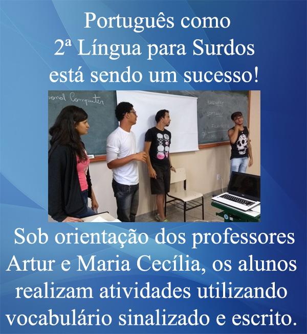 Português como 2ª Língua para Surdos