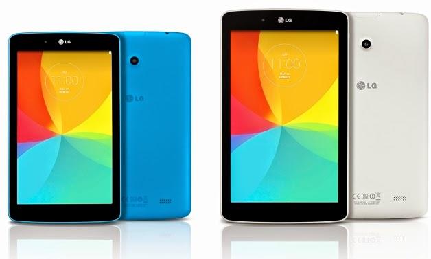 LG anuncia mais três modelos de tablets G Pads