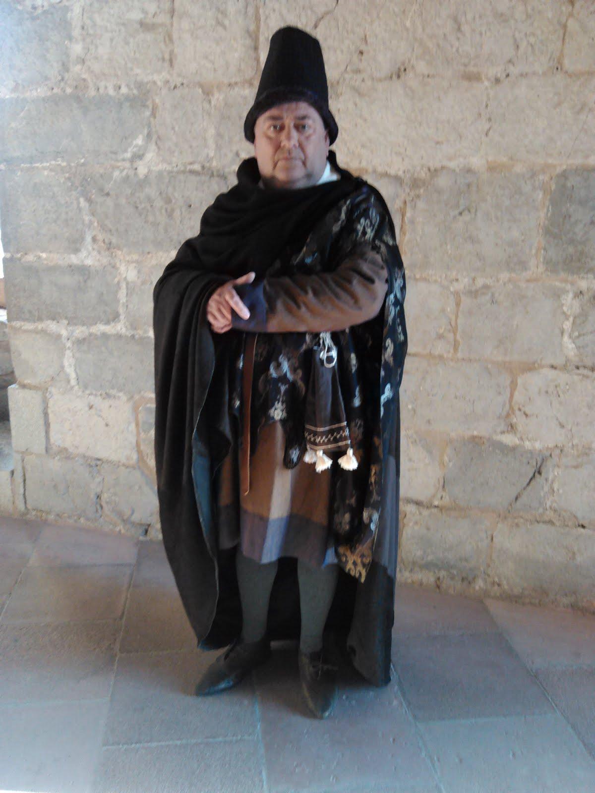 Personaje Notario Jaume Monfort