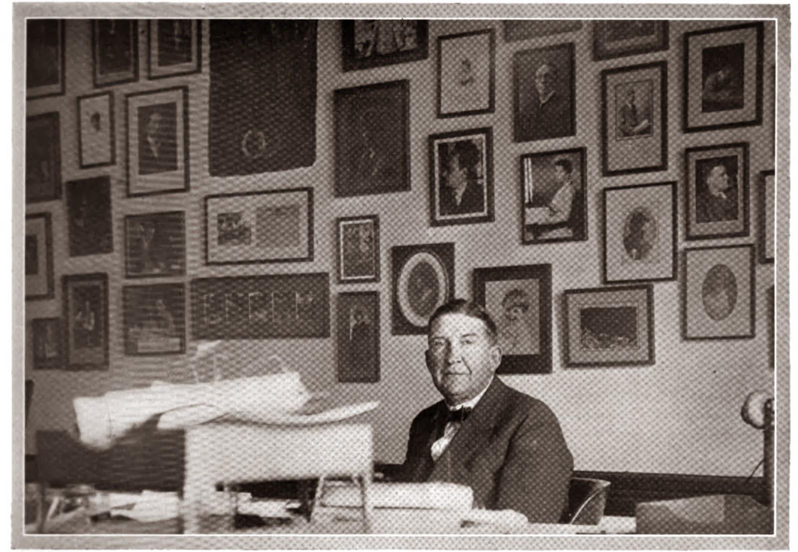 Robert (Bob) H. Davis, Editor, Munsey's Magazine, c. 1920