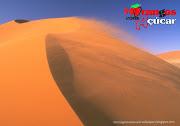 . Logotipo da série juvenil em wallpaper Vento do Deserto.