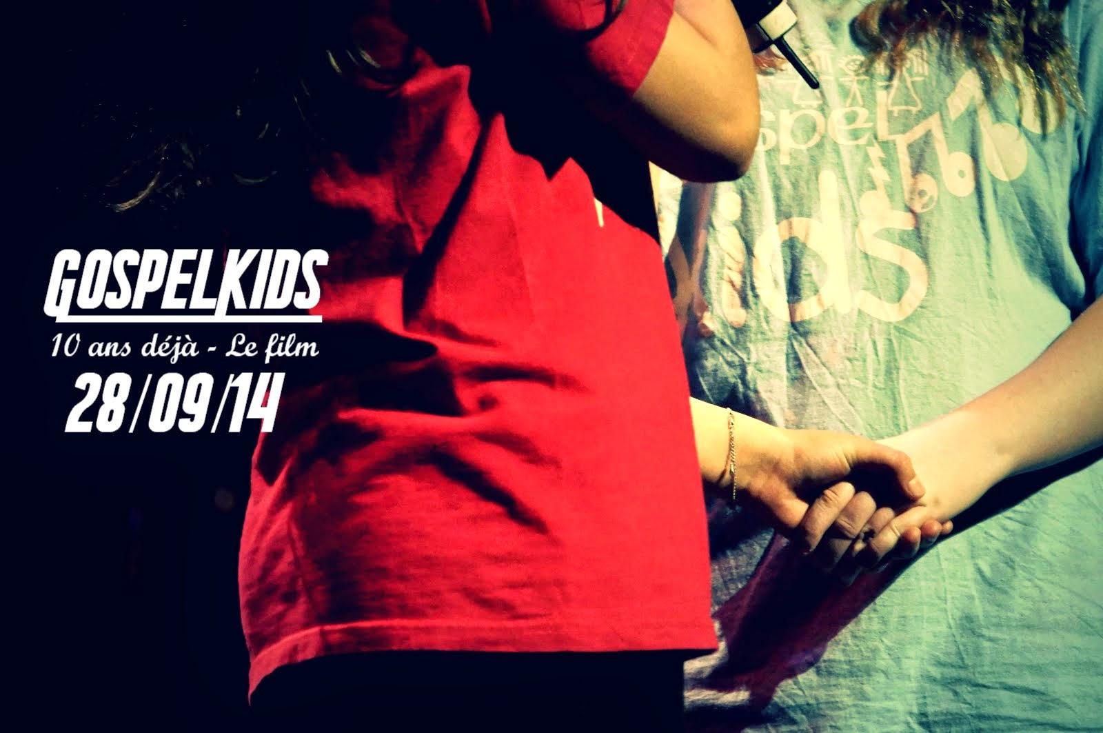 Gospel Kids 10 ans déjà - Le film