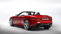 Jaguar F-Type Convertible backside