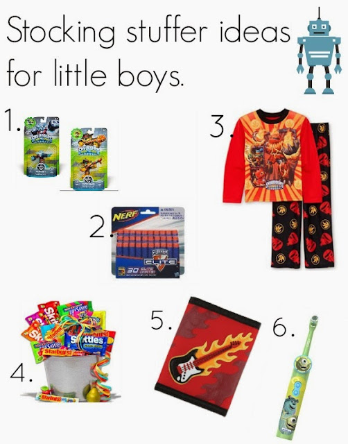 My Three Bittles: Boy stocking stuffer ideas.