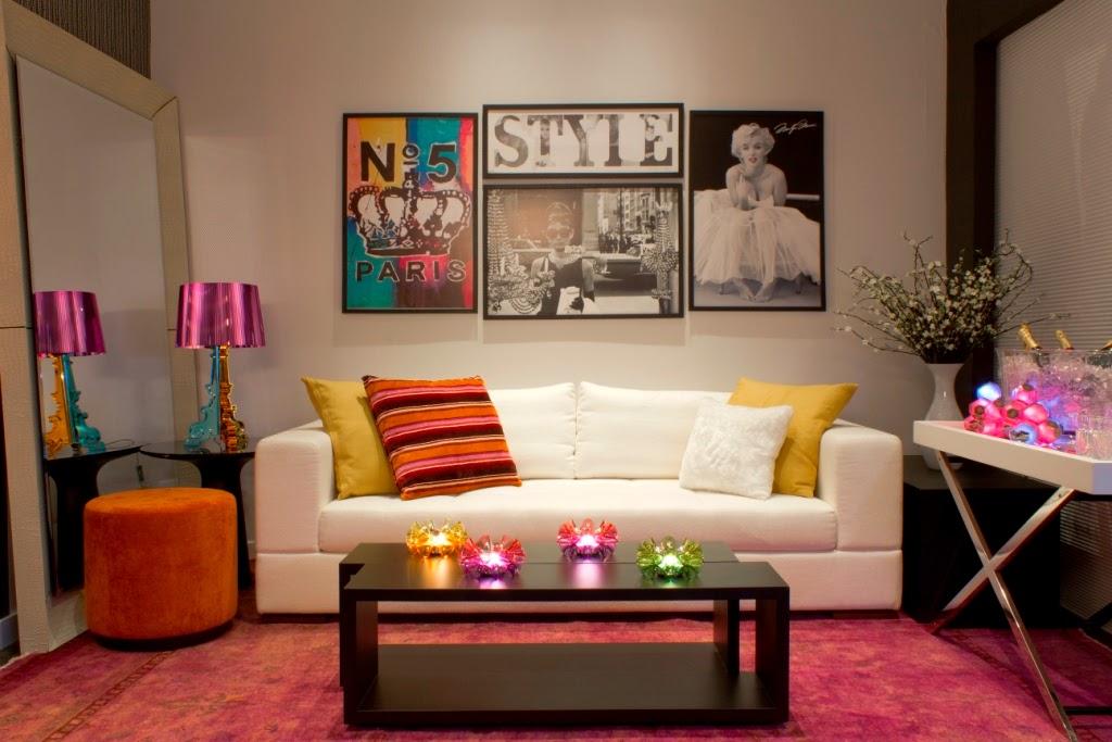 Decore sua mente seu corpo e seu espa o vamos decorar a for Decoracao sala de estar quadros
