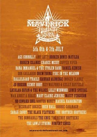 ## Maverick Festival 2019 ##