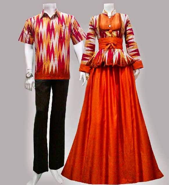 Model baju batik gamis motif rang rang batik bagoes solo Baju gamis xl