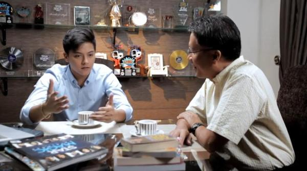 Is Daniel Padilla endorsing Mar Roxas for Presidency?