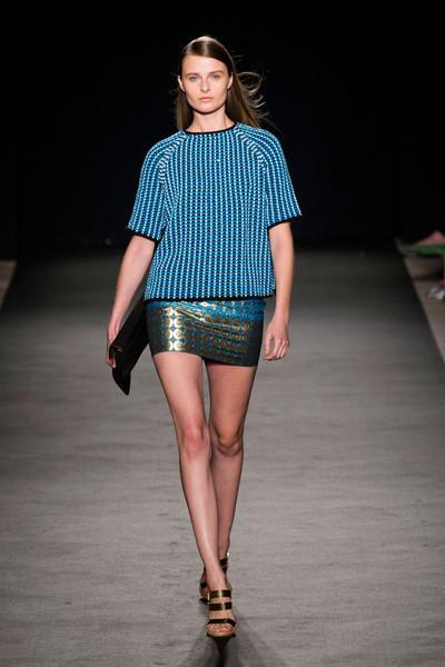 Milan Fashion Week S/S 2013: Vasilisa Pavlova in Les Copains show