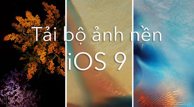 Tải bộ hình nền iOS 9 cực đẹp và chất mới nhất