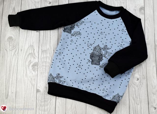 "Raglansweater ""Schlawiner"" aus The Sailor"