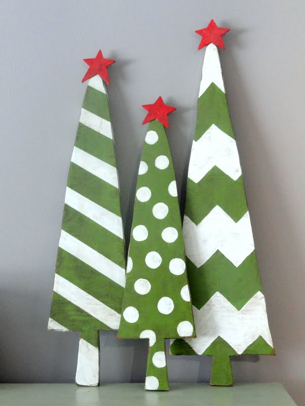 wooden christmas trees - Wood Christmas Tree