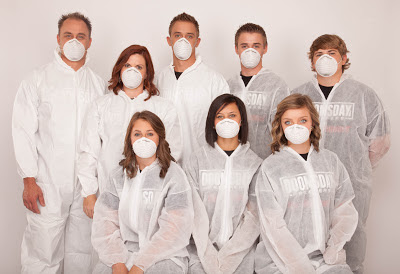 Doomsday Preppers getting ready foe a small Pox outbreak