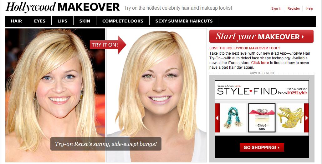 Paint Me Chic Hollywood Hair Makeover