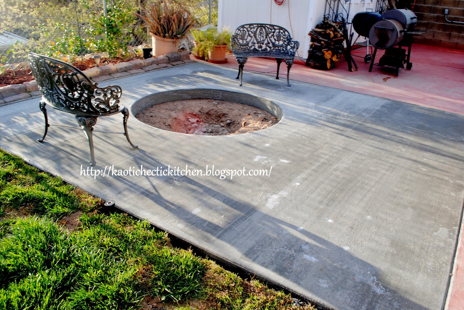 my kaotic kitchen tip trick tuesday diy backyard fire pit